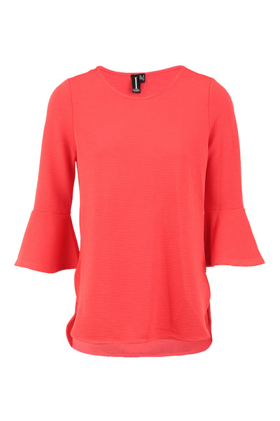 Flare Cuff Top - Izabel London