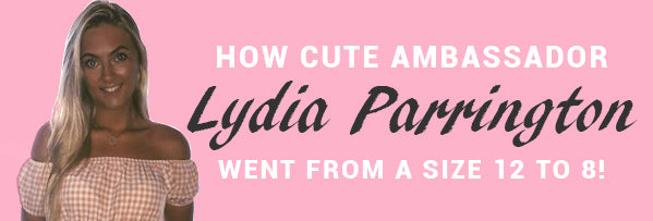 How Lydia Parrington went from a Size 12 to 8!