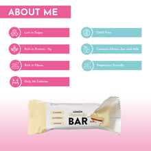 Load image into Gallery viewer, Cute Lemon & White Chocolate Cheesecake Protein Bars
