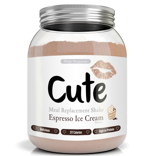 Espresso Ice Cream Meal Replacement Shake