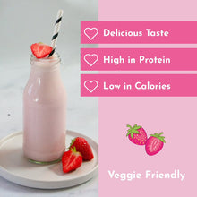 Load image into Gallery viewer, Strawberry Whey Protein Shake