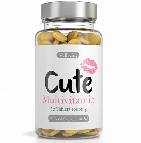 Multivitamin Capsules - Cute
