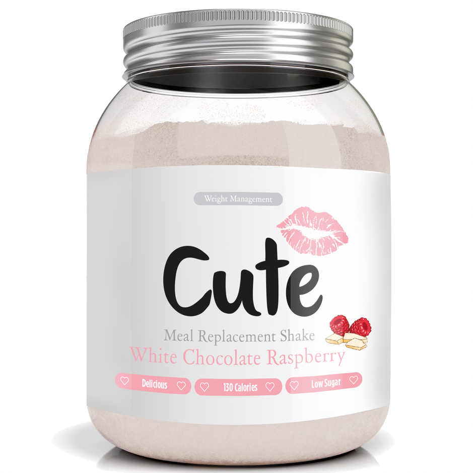 White Chocolate & Raspberry Meal Replacement Shake