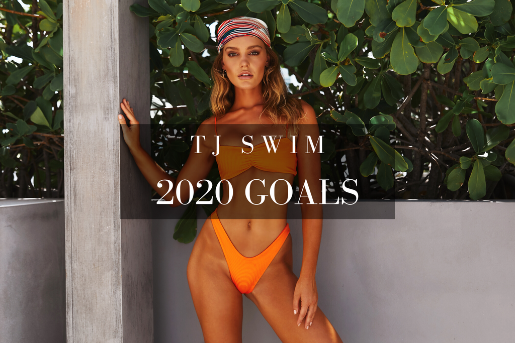 TJ SWIM x 2020 Goals