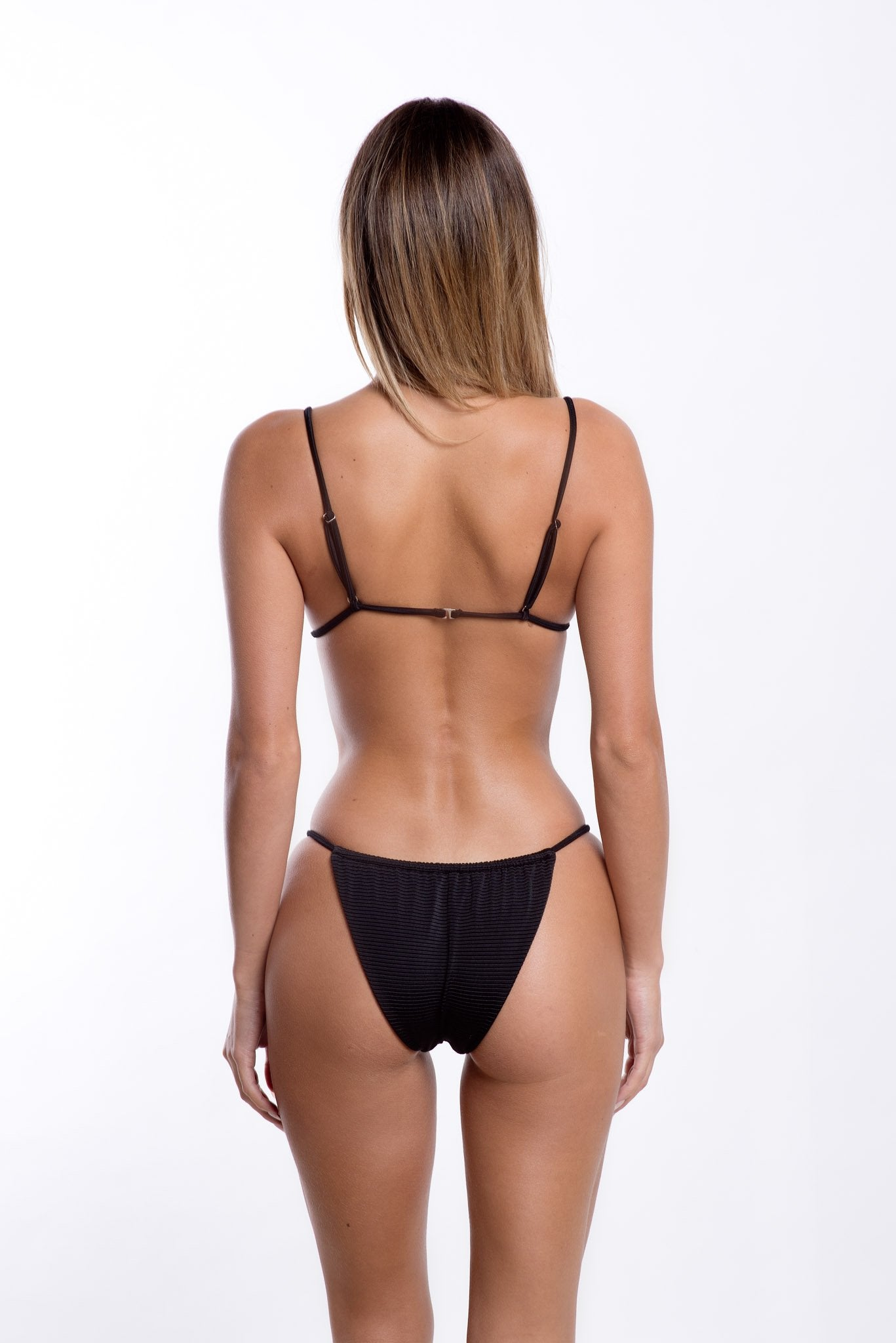 Leila Bottoms Black Rib
