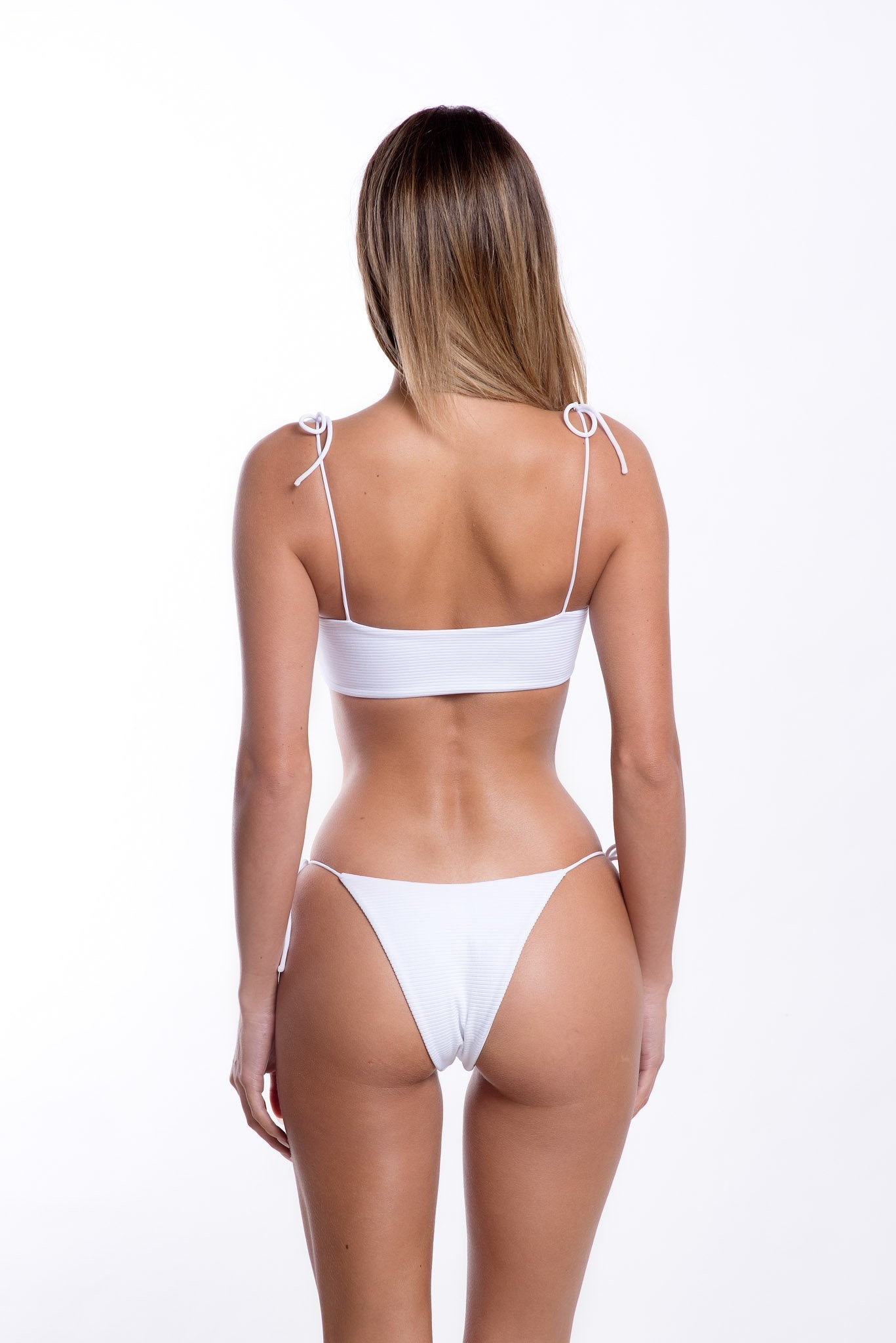 Cindy Bottoms White Rib
