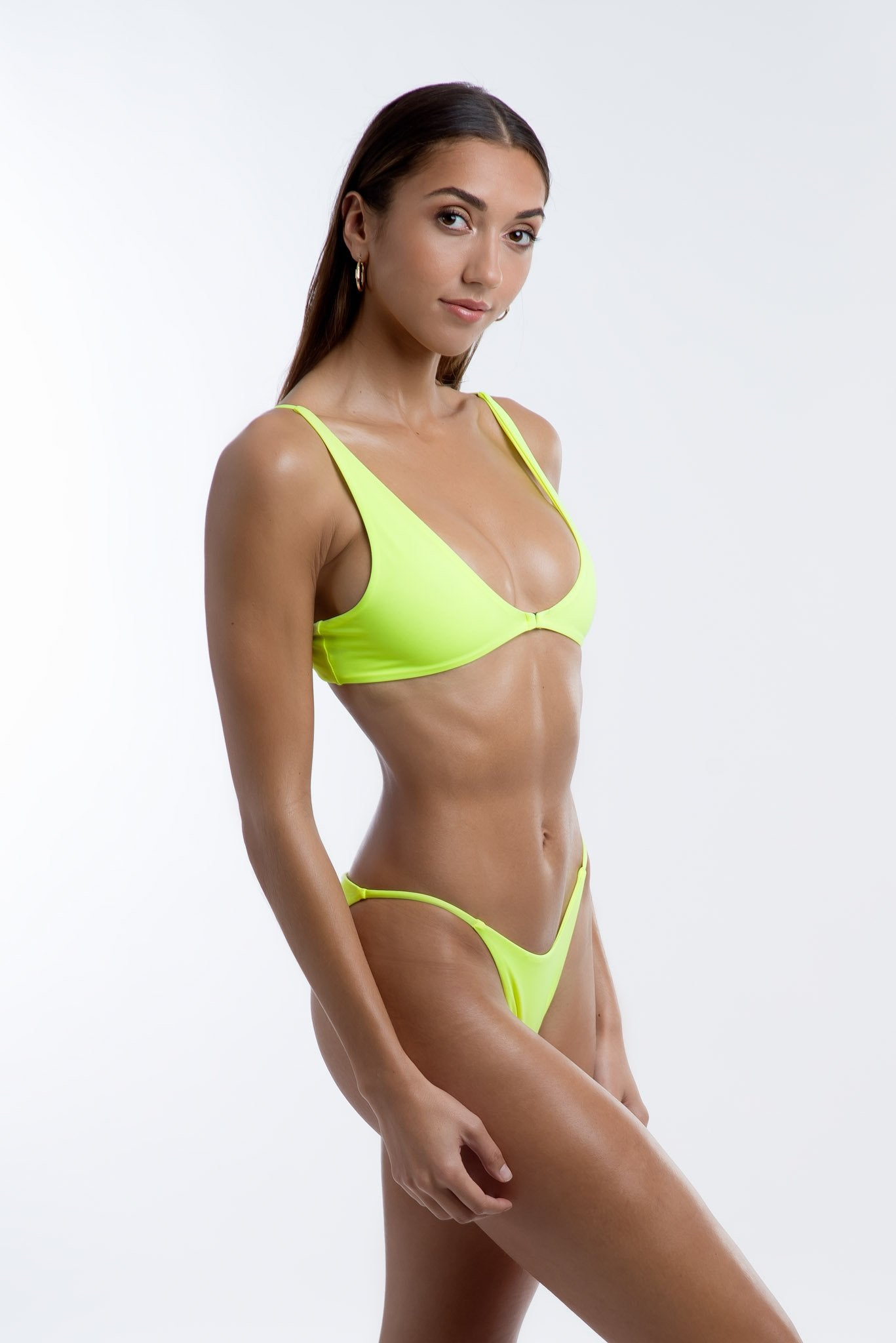 Cartia Bottoms Neon Yellow