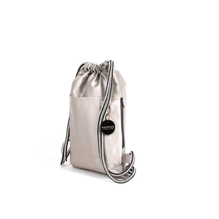 Sackpack silver