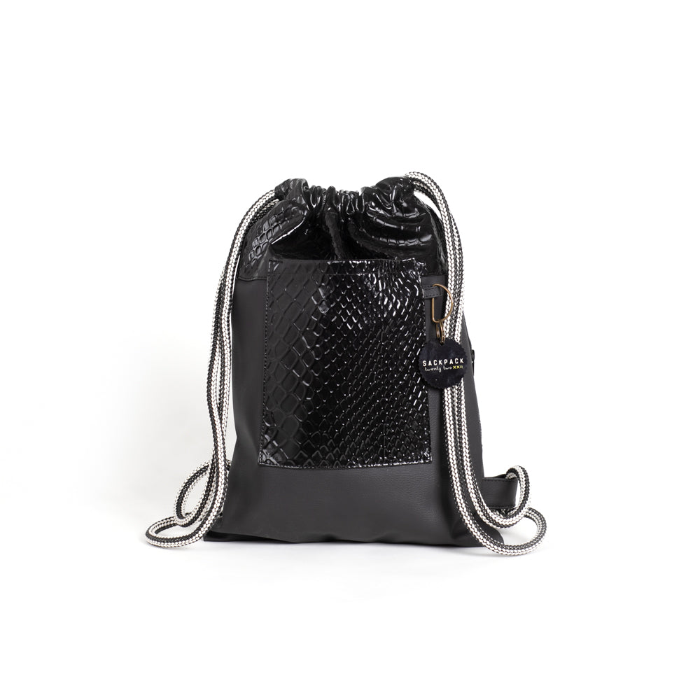 Sackpack black snake