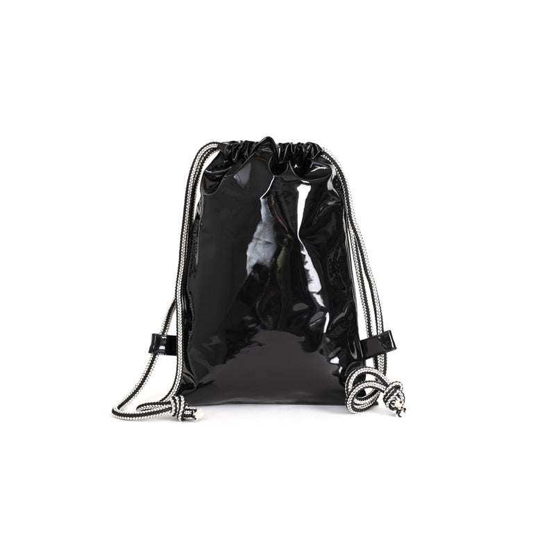 Sackpack Shiny Black