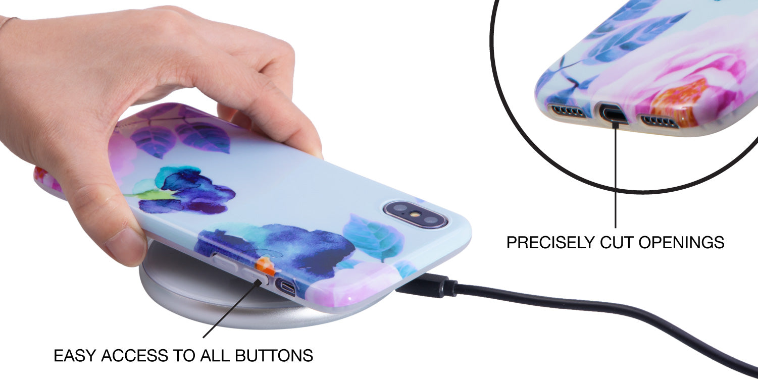 precisely cut iPhone cases - full access to ports