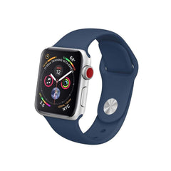 midnight blue apple watch sport band