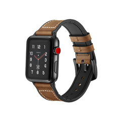 Brown Leather Vintage Apple Watch Bands