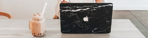 marble macbook case collection
