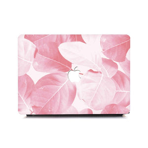 Macbook Sleeve Package [A1370/A1465] MacBook Air 11' / Gradient Keypad - Pink / MacBook Sleeve - Spill-Proof Leather Zip Bag in Baby Pink MacBook Case Sleeve Package - Hazel Leaf