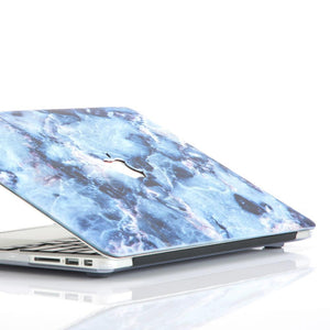 Macbook Sleeve Package [A1370/A1465] MacBook Air 11' / Gradient Keypad - Blue / MacBook Sleeve - Padded Sponge-lined Zip Bag in Turquoise Blue MacBook Case Sleeve Package - Ocean Marble