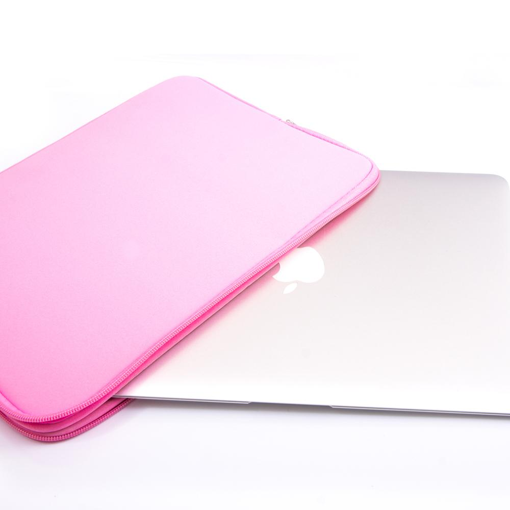 Macbook Sleeve Package [A1370/A1465] MacBook Air 11' / Gradient Keypad - Pink / MacBook Sleeve - Padded Sponge-lined Zip Bag in Pink MacBook Case Sleeve Package - Floral Celestial