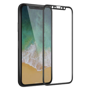 Accessories iPhone X / Black Reinforced HD Glass Protector