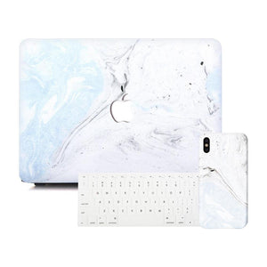 Baby Blue Fossil MacBook Discount Package | Slick Case