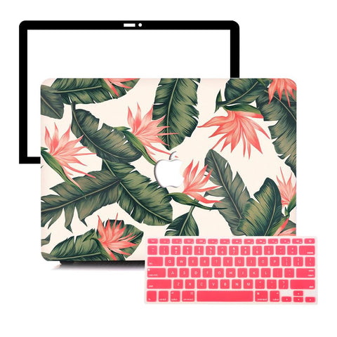 MacBook Protective Package - Betel Nut Leaf