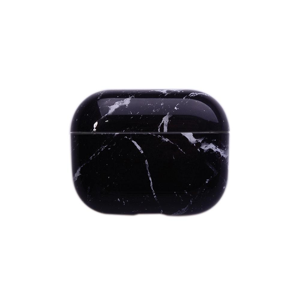 Best AirPods Case Protective Cover - AirPods Case Protective Cover - Black Marble