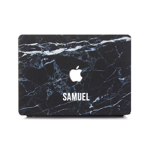 Custom MacBook Case - Black Alabastrine (Preorder for Oct 14, 2018) - Slick Case