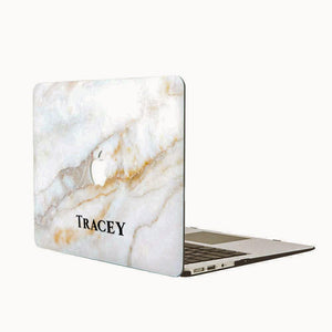 Custom MacBook Case - Crystal Marble (Preorder for Oct 14, 2018) - Slick Case