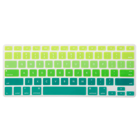 Colour Gradient MacBook Keypad - Green