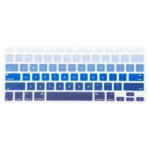 Macbook Protective Package [A1370/A1465] MacBook Air 11' / Gradient Keypad - Blue MacBook Case Protective Screen Package - Palm Breeze