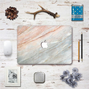 MacBook Decal - Gradient Marble