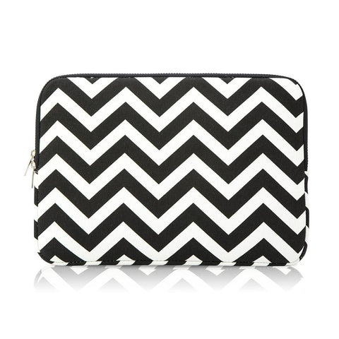 Laptop Sleeve -  Zigzag B&W