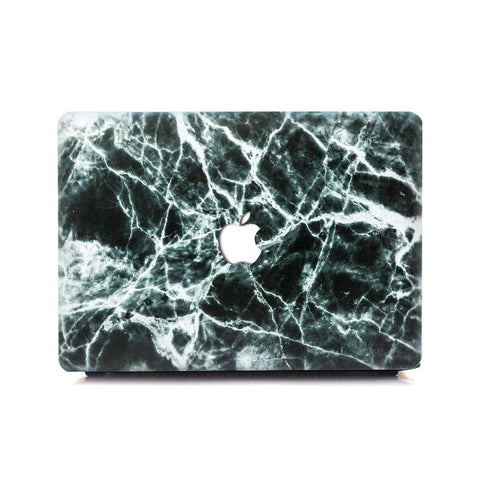 MacBook Case - Silk Black Marble