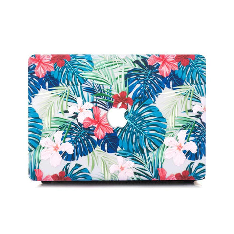 Macbook Case - Floral Safari