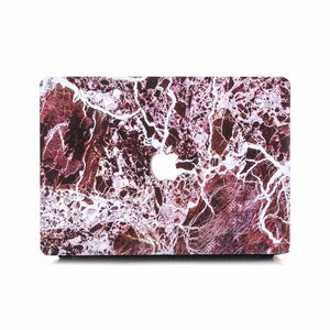 Macbook Case [A1370/A1465] MacBook Air 11' MacBook Case - Burgundy Shatter Marble