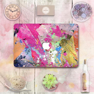 Macbook Decal [A1370/A1465] MacBook Air 11' MacBook Decal - Acrylic Splatter