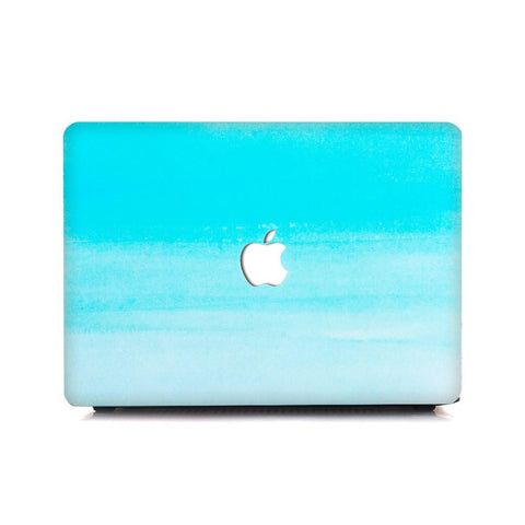 MacBook Case - Gradient Turquoise Mist