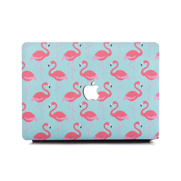 MacBook Case - Flamingos