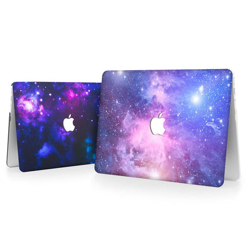 Couple MacBook Casing: Constellation + Purple Galaxy (Buy 1 Get 2nd 50% OFF)