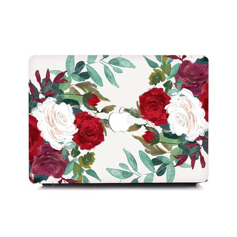MacBook Case - Clustered Roses