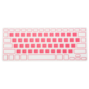 Pink Colorblock MacBook Keypad - Slick Case