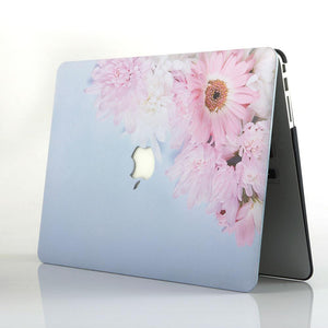 MacBook Case -  Pink Sunflower - Slick Case