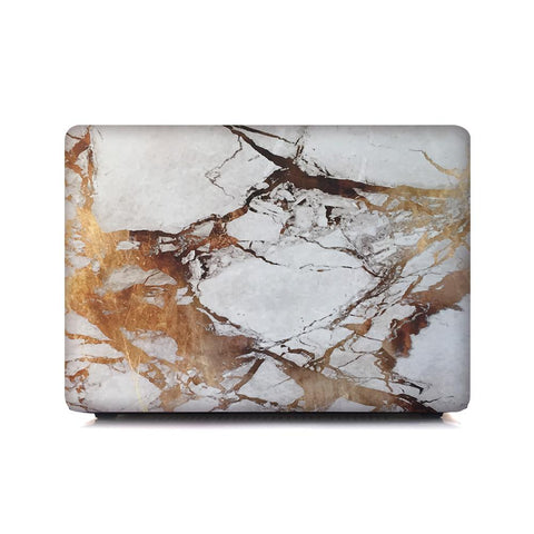 MacBook Case - Gold Marble