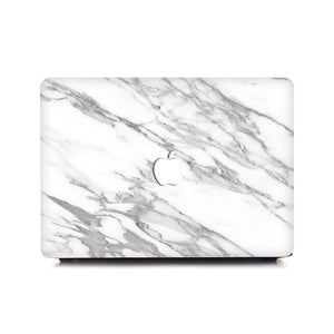 MacBook Case - Silk White Marble - Slick Case