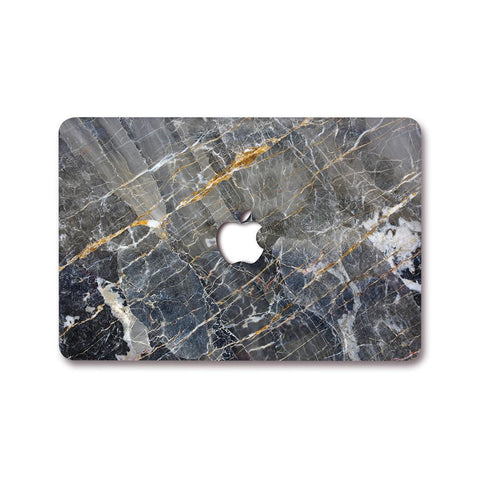MacBook Decal - Shatter Gold Marble