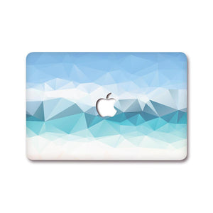 MacBook Decal - Sapphire Prism | Slick Case