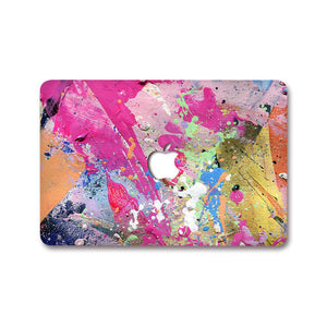 MacBook Decal - Acrylic Splatter | Slick Case