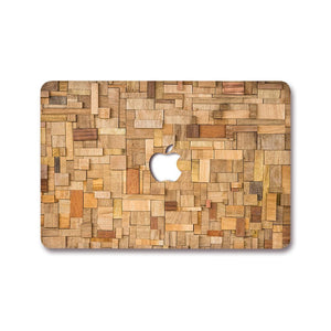 Macbook Decal [A1370/A1465] MacBook Air 11' MacBook Decal - Wood Block
