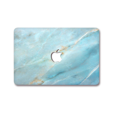 MacBook Decal - Cobalt Marble