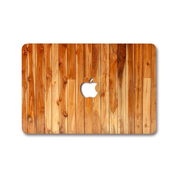 MacBook Decal - Wood Tiles