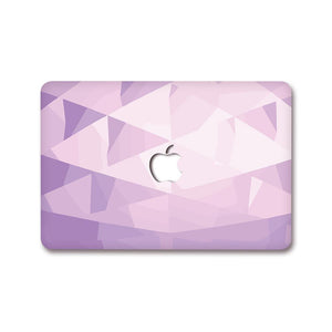MacBook Decal - Lavender Prism | Slick Case